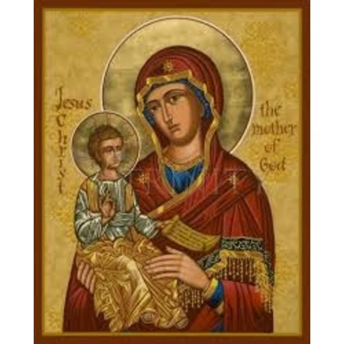 ICON MARY MOTHER OF GOD MEDIUM 5.5X7