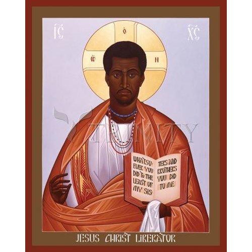 ICON JESUS CHRIST: LIBERATOR SMALL 4X5