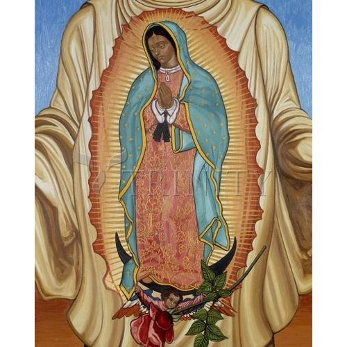 ICON OUR LADY OF GUADALUPE SMALL 4X5