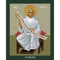 ICON ST AELRED OF RIEVAULX SMALL 4X5
