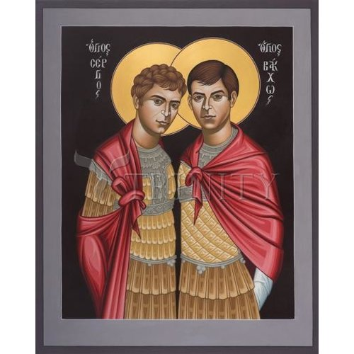 ICON Sts SERGIUS & BACCHUS SMALL 4X5
