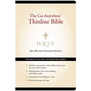 NEW REVISED STANDARD VERSION (NRSV) - THINLINE GO ANYWHERE BIBLE EDITION