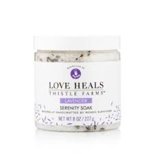 THISTLE FARMS BATH SOAK LAVENDER SERENITY