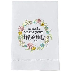 TOWEL HOME IS WHERE YOUR MOM IS