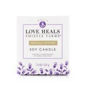 THISTLE FARMS CANDLE SOY VANILLA VETIVER