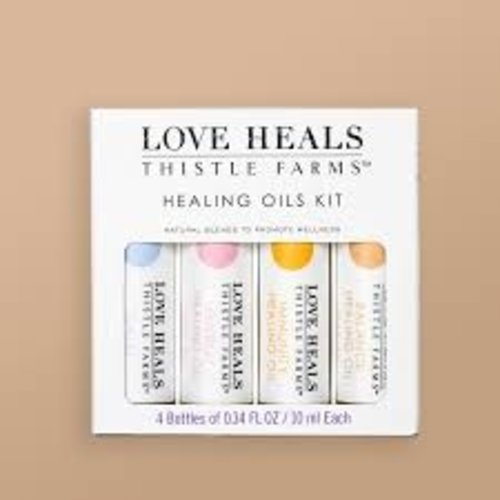 THISTLE FARMS LOVE HEALS HEALING OILS KIT of 4 by THISTLE FARMS