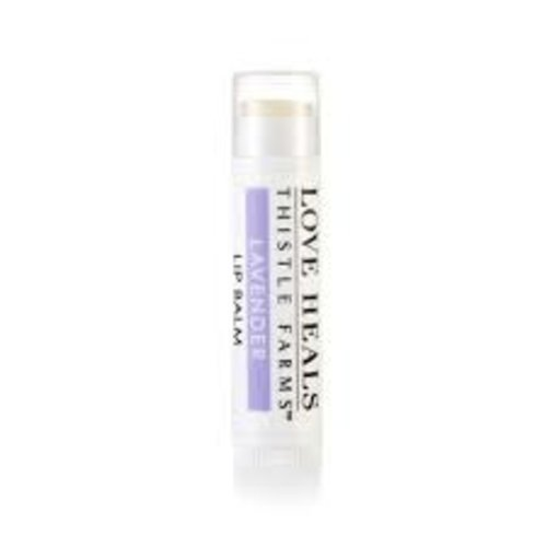 THISTLE FARMS LIP BALM LOVE HEALS LAVENDER