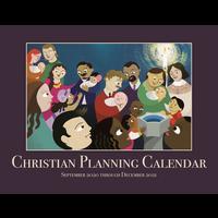 CHRISTIAN PLANNING CALENDAR 2020-2021 16 MONTHS SEPTEMBER THROUGH DECEMBER