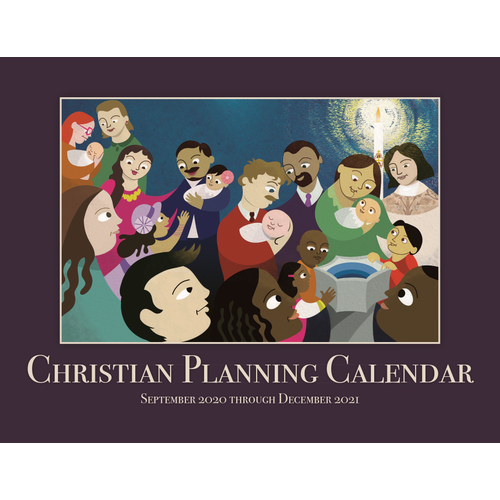 CHRISTIAN PLANNING CALENDAR 2020-2021 16 MONTHS SEPTEMBER THROUGH DECEMBER