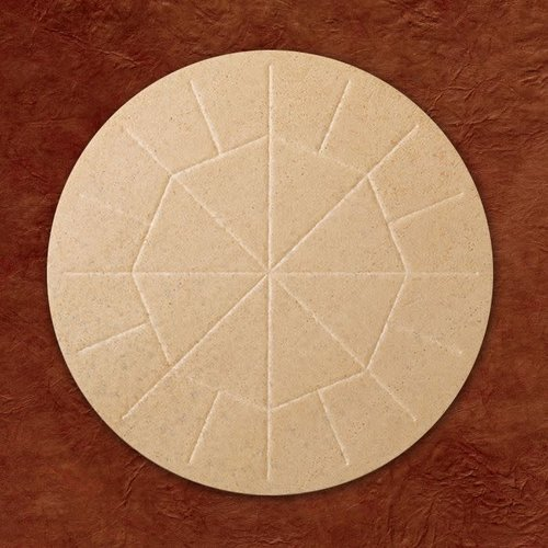 """WAFERS WHOLE WHEAT EX-LARGE PRIEST HOST 5-3/4"""" - 25/BOX"""