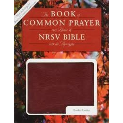 BOOK OF COMMON PRAYER AND THE HOLY BIBLE, NRSV