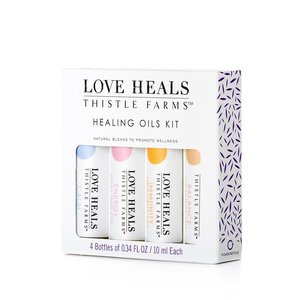 THISTLE FARMS LOVE HEALS HEALING OILS KIT of 4