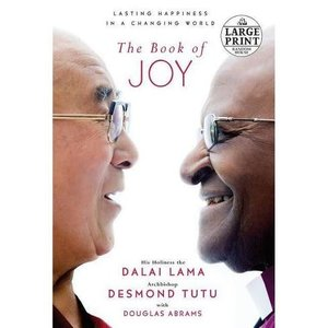 DALAI LAMA THE BOOK OF JOY (LARGE PRINT)