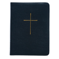 BOOK OF COMMON PRAYER, DELUXE PERSONAL EDITION, BONDED, NAVY