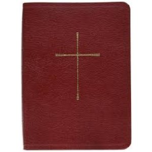 BOOK OF COMMON PRAYER, BONDED LEATHER, RED