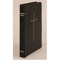 BOOK OF COMMON PRAYER, LEATHER, BLACK