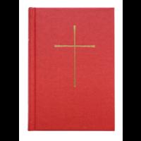 BOOK OF COMMON PRAYER, LE LIVRE DE LA PRIERE COMMUNE, RED