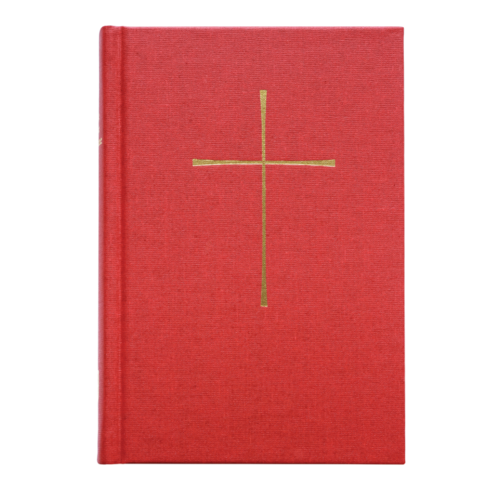 BOOK OF COMMON PRAYER, LE LIVRE DE LA PRIERE COMMUNE, RED