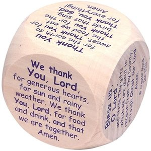 PRAYER CUBE MEALTIME (TABLE GRACE)