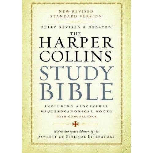 HARPER COLLINS STUDY BIBLE NEW REVISED STANDARD VERSION (NRSV) PAPERBACK