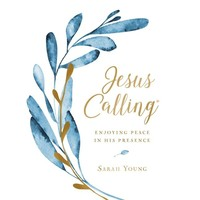 JESUS CALLING: LARGE PRINT (Cloth Hardcover) by SARAH YOUNG