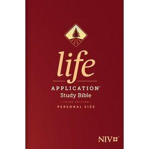 NEW INTERNATIONAL VERSION (NIV) LIFE APPLICATION STUDY BIBLE 3RD EDITION PERSONAL SIZE