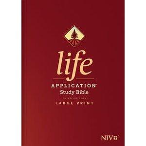 NEW INTERNATIONAL VERSION (NIV) LIFE APPLICATION STUDY BIBLE 3RD EDITION LARGE PRINT