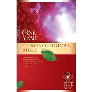 THE ONE YEAR CHRONOLOGICAL BIBLE- NEW LIVING TRANSLATION (NLT)