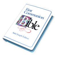 NEW AMERICAN BIBLE (NAB) SAINT JOSEPH FIRST COMMUNION EDITION IN BLUE