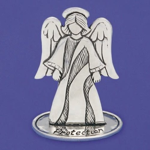 """ANGEL PEWTER 3"""" PROTECTION from Basic Spirit"""