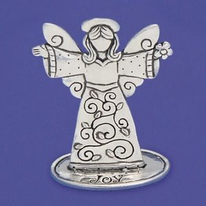 "ANGEL PEWTER 3"" JOY from Basic Spirit"