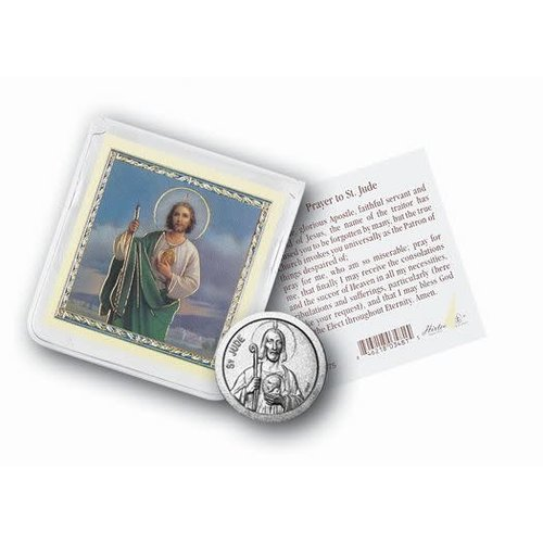 POCKET COIN ST JUDE with PRAYER CARD