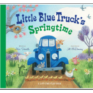 SCHERTLE, ALICE LITTLE BLUE TRUCK'S SPRINGTIME by ALICE SCHERTLE