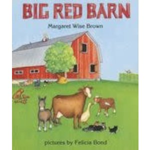 BROWN, MARGARET WISE BIG RED BARN BOARD BK-BOARD  by MARGARET WISE BROWN