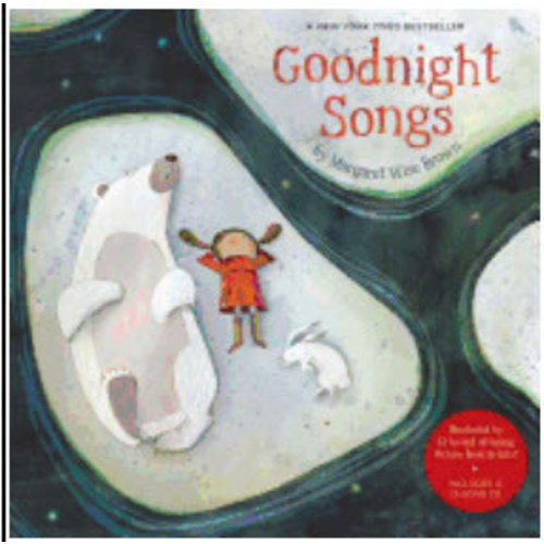 BROWN, MARGARET WISE GOODNIGHT SONGS W/CD by MARGARET WISE BROWN