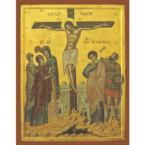 ICON CRUCIFIXION SM