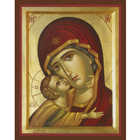 ICON THEOTOKOS TENDER MERCY