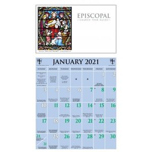 2021 ASHBY KALENDAR EPISCOPAL