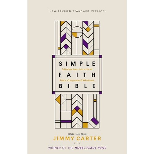 NRSV  SIMPLE FAITH BIBLE with Commentary by Jimmy Carter