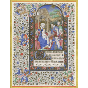 Adoration Of The Magi Boxed Christmas Cards by CASPARI