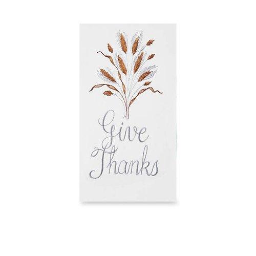 FLOUR SACK TOWEL GIVE THANKS
