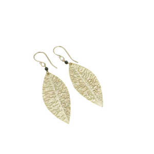 Cabo Earring #3 pyrite and gold by Erin Gray