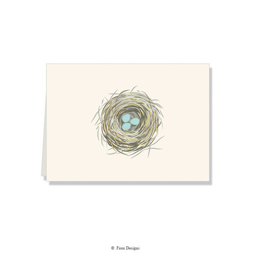 GOLD ACCENT NOTE CARDS Nest