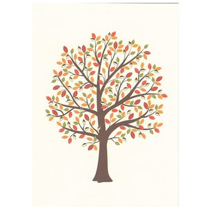 GOLD ACCENT NOTE CARDS Tree of Life