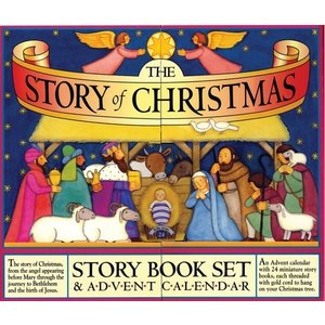 STORY OF CHRISTMAS BOOK SET & ADVENT CALENDAR by MARY PACKARD