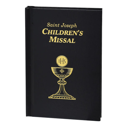 CATHOLIC BOOK PUBLISHING AND ICEL SAINT JOSEPH CHILDREN'S MISSAL: BLACK by CATHOLIC BOOK PUBLISHING