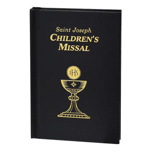 CATHOLIC BOOK PUBLISHING AND ICEL SAINT JOSEPH CHILDREN'S MISSAL: BLACK by CATHOLIC BOOK PUBLISHING