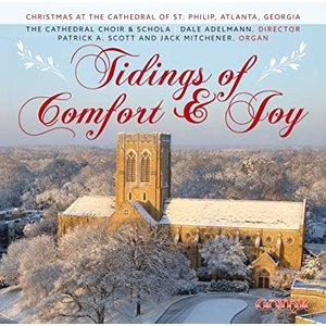 Tidings of comfort and joy CD - Cathedral of St Philip Choir and Schola