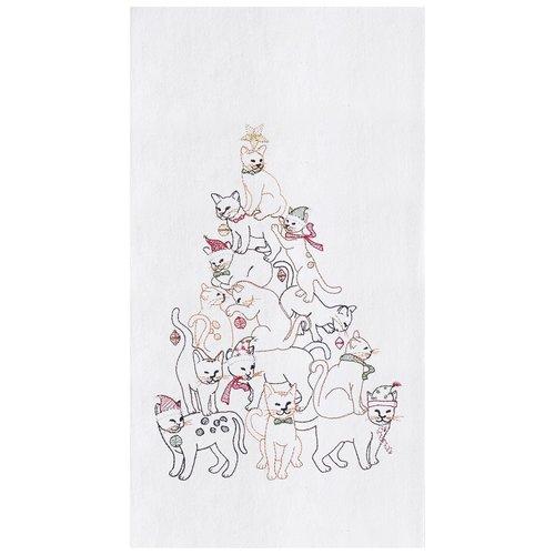 TOWEL FLOUR SACK CAT TREE