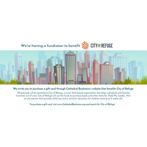Gift Card Fundraiser for City of Refuge